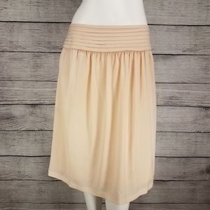 DE Collection A-Line Skirt Side pockets Ivory L